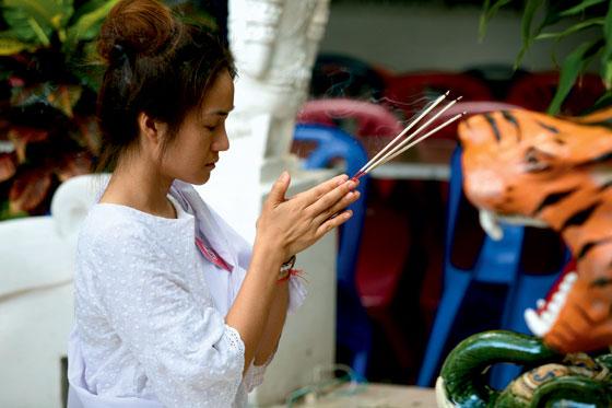 Фото №1 - Таиланд: из жизни медитирующих