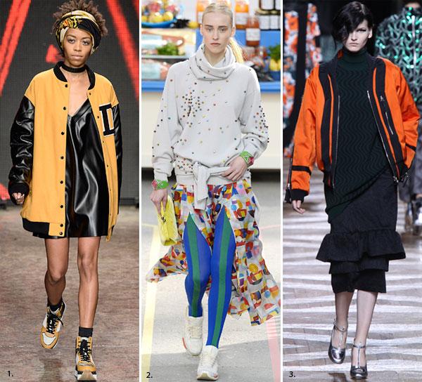 Тенденции осень – зима 2014/15: спортивная одежда