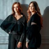 Виктория Лукьянова и Диана Карнаухова