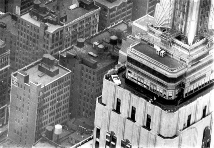 Фото №1 - История одной фотографии: Ford Mustang на крыше Эмпайр-стейт-билдинг, октябрь 1965 года