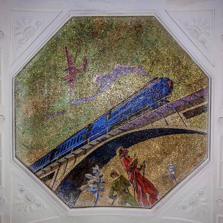 Фото №5 - Небесные своды Московского метро