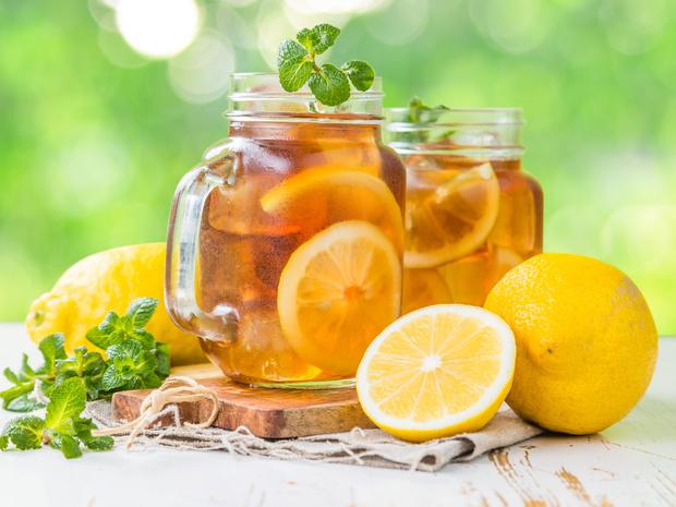 Фото №1 - Холодный чай: три освежающих рецепта