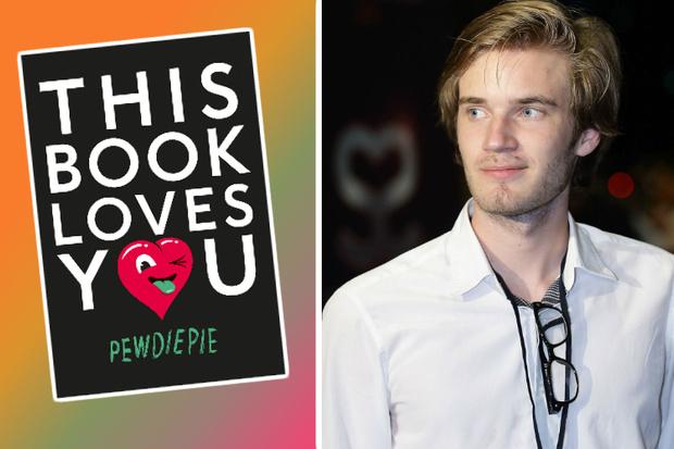 Книга This book loves you, PewDiePie