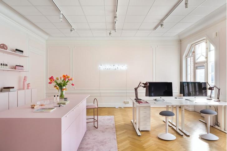 Фото №6 - Салон красоты в пастельных тонах в Стокгольме