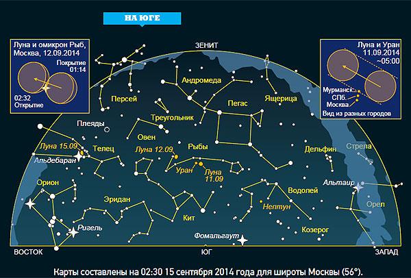 Фото №2 - Ночное небо: на что посмотреть в сентябре