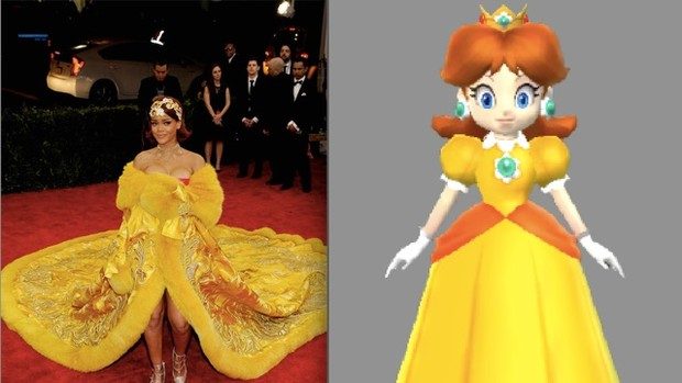 Фото №1 - Модный приговор: Рианна черпает вдохновение для нарядов у Mario