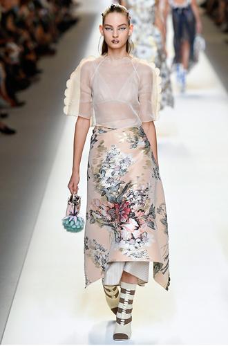 Фото №7 - 10 весенних трендов с Недели моды в Милане