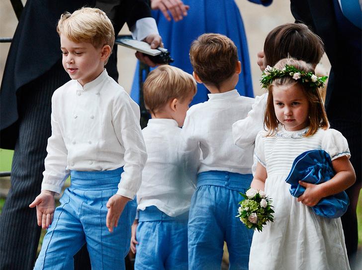 Фото №6 - Принц Джордж Кембриджский: шестой год в фотографиях
