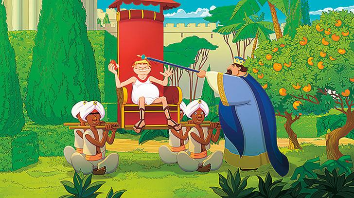 Фото №3 - Как рисуют мультфильмы про трех богатырей