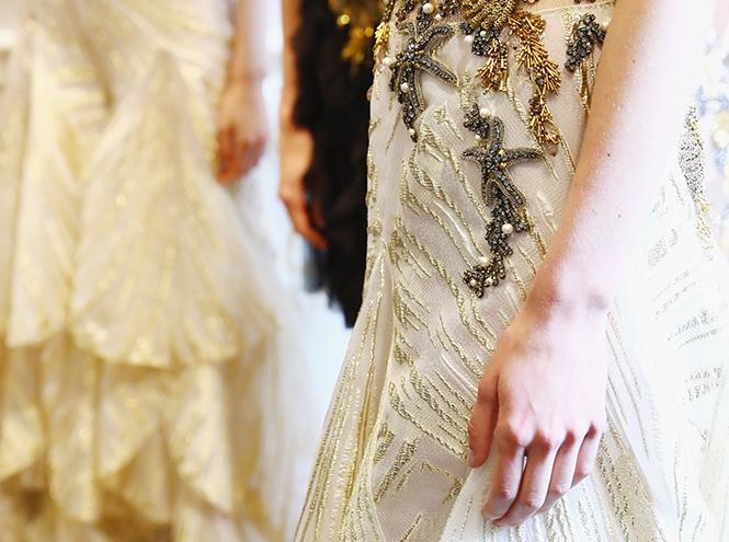 Фото №18 - В деталях: лучшие свадебные платья haute couture осень/зима 2016