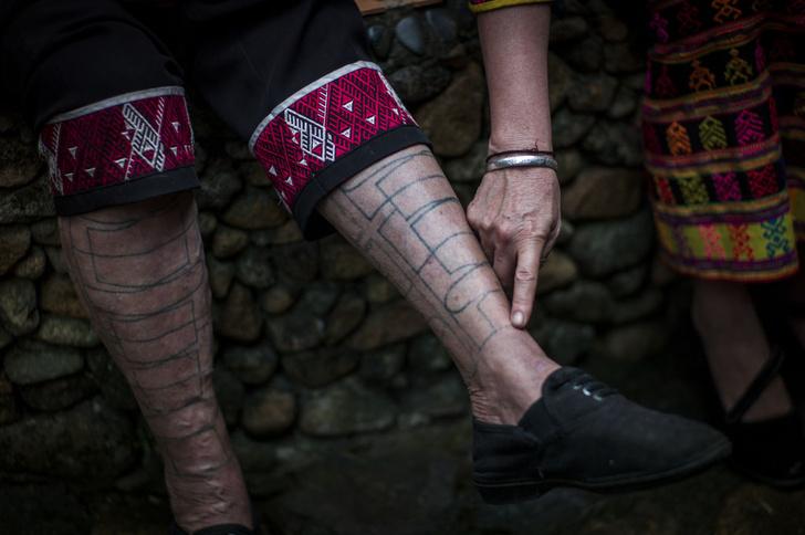 Фото №1 - Почему татуировки со временем не исчезают