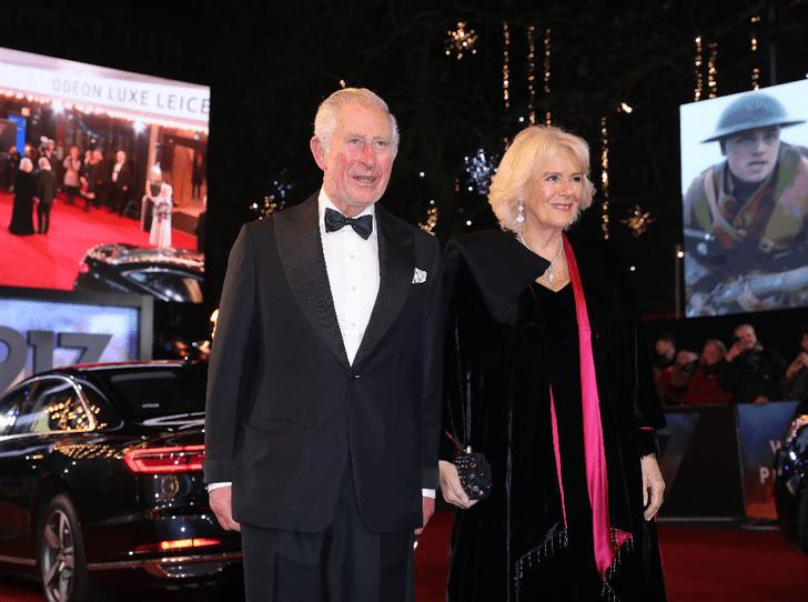 Фото №3 - Светский выход: Чарльз и Камилла на премьере фильма в Лондоне