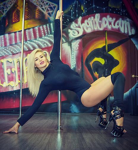 Диана Глухова, танцовщица, фото