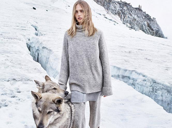 Фото №9 - Саша и волк: Саша Пивоварова для Mango