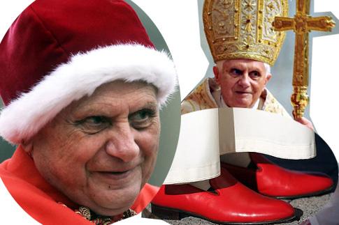 Детали модного гардероба Бенедикта XVI