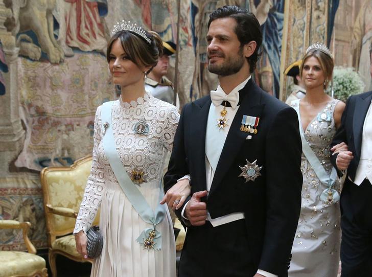 Фото №1 - Принцесса София повторила образ герцогини Кейт и Пэрис Хилтон