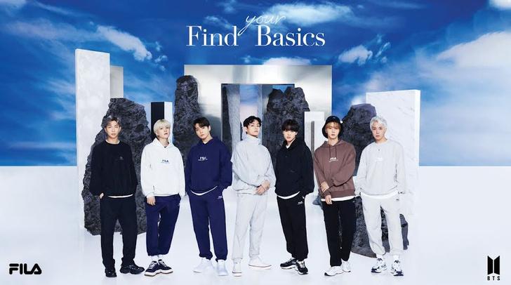Фото №1 - Как модно одеться в спортивном стиле: показывают BTS в рекламе FILA Korea