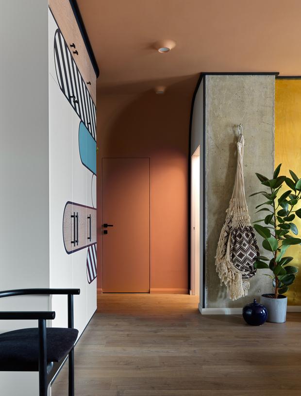 Фото №10 - Необычная яркая квартира 78 м² в центре Петербурга