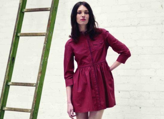 Фото №1 - LEVI`S представил новую коллекцию платьев