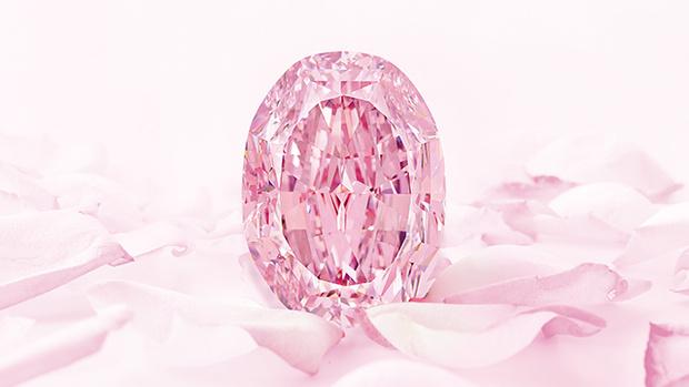 Фото №4 - История одного драгоценного камня: крупнейший в мире розовый бриллиант «Призрак розы»