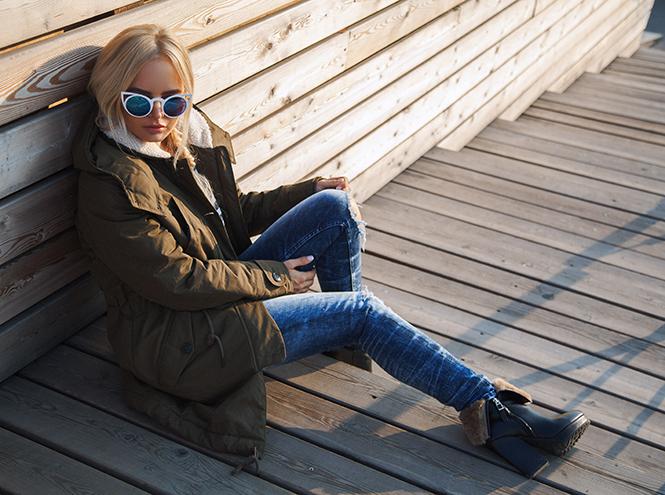 Фото №2 - Российские It-girls и блогеры снялись в лукбуке Lee®