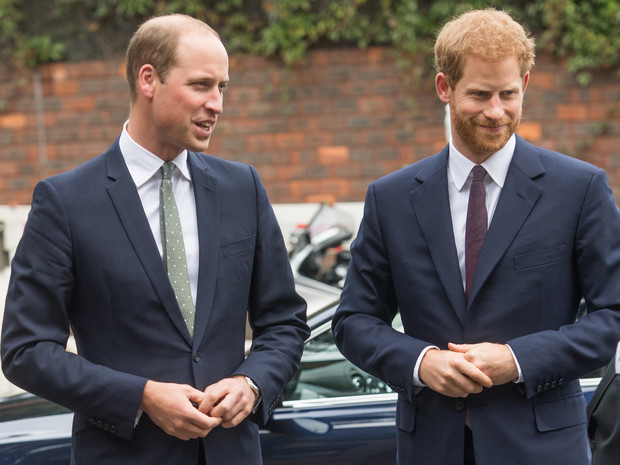 Фото №1 - Соперничество и заискивание: что не так с заявлениями Гарри и Уильяма о принце Филиппе