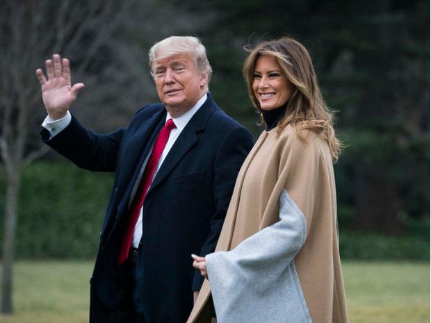 Фото №1 - Жизнь после Белого дома: что сейчас происходит в отношениях Дональда и Мелании Трамп