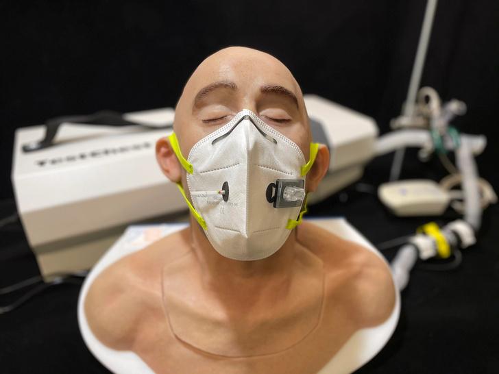 Фото №1 - Ученые создали лицевую маску со встроенным детектором коронавируса