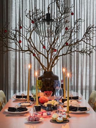 Фото №10 - Все к столу: три дизайнерские сервировки для главного праздника