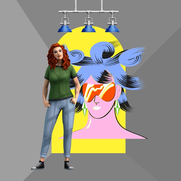 Фото №4 - Что тебя ждет в новом наборе «Лофт комплект» для The Sims 4 🌃