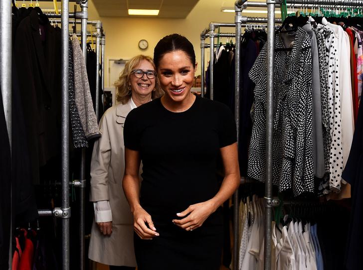 Фото №1 - Герцогиня Меган показала, как работает над модной коллекцией