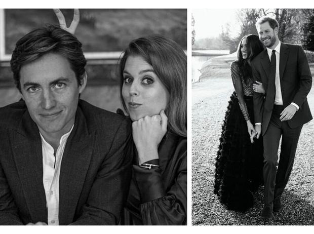 Фото №2 - Что общего у помолвочных фотосессий принцессы Беатрис и герцогини Меган