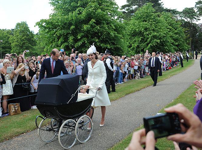 Фото №9 - Принцессу Шарлотту крестили в Норфолке