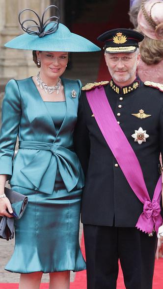 Фото №5 - Принцы, королевы, султаны: как выглядели монаршие гости свадьбы Кейт и Уильяма