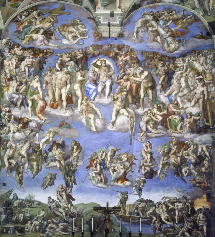 Фото №1 - Обидеть художника: 7 тайн «Страшного суда» Микеланджело