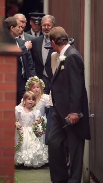 Фото №7 - Самые важные гости: маленькие Виндзоры на королевских свадьбах