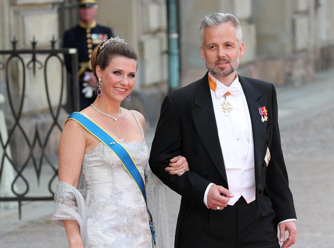 Фото №1 - Развод по-королевски: норвежская принцесса Марта-Луиза рассталась с мужем
