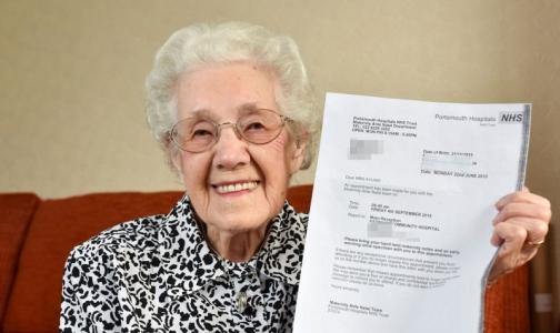 Фото №1 - Врачи сообщили 99-летней британке о беременности