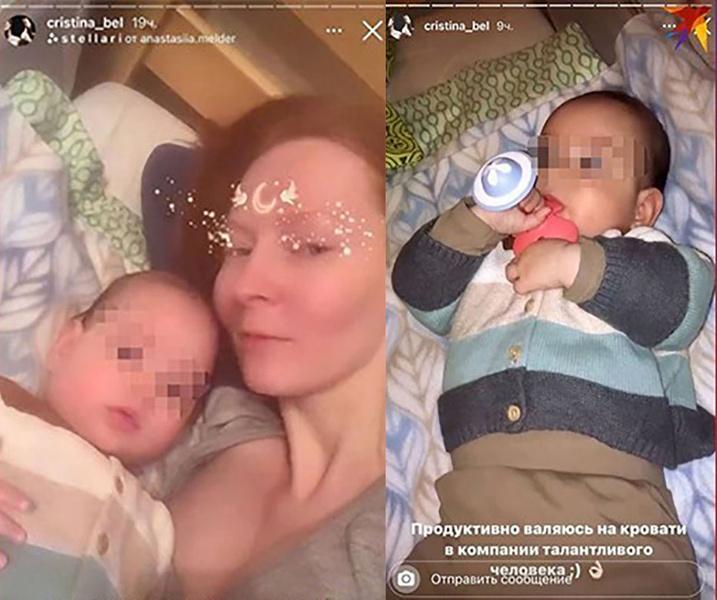 Фото №4 - Дочь Жени Белоусова показала его первого внука