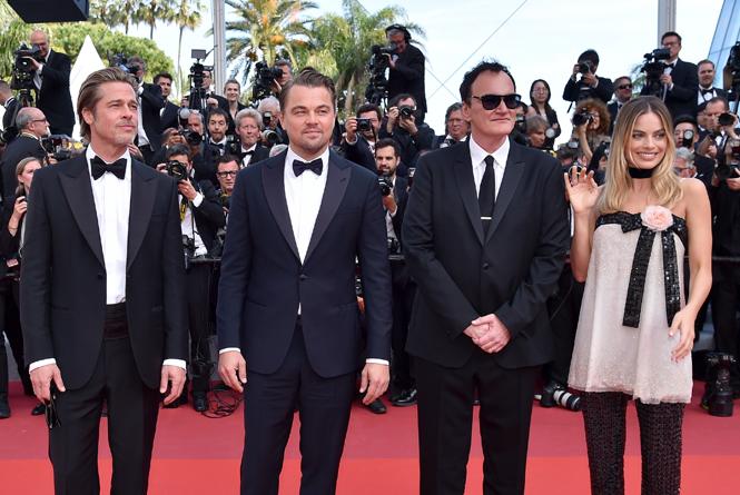 Фото №3 - Модные Канны-2019: Марго Робби, Хлое Севиньи и Дакота Фаннинг на премьере «Однажды в Голливуде»