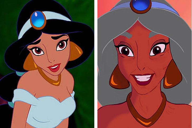 Фото №5 - Как принцессы Disney выглядели бы в старости?