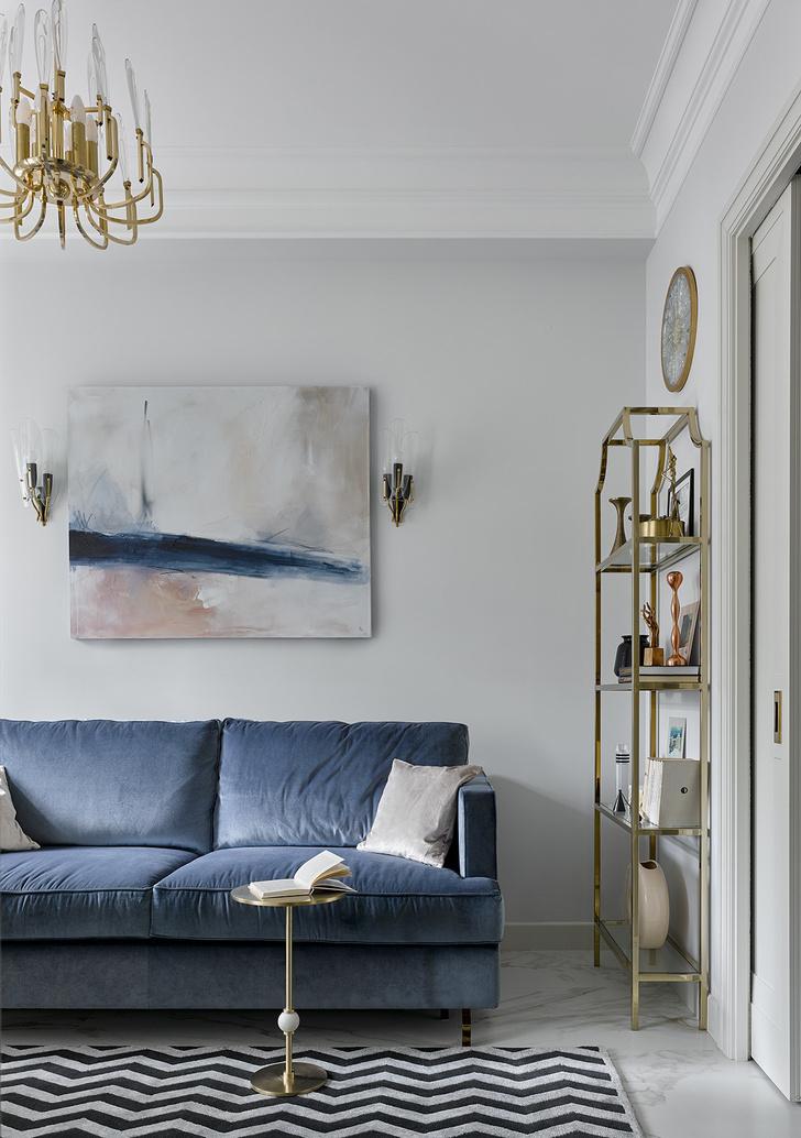 Фото №2 - Как увеличить комнату с помощью краски: 8 идей