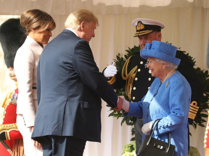 Фото №1 - Герцогини Меган не будет на встрече королевской семьи с Трампом