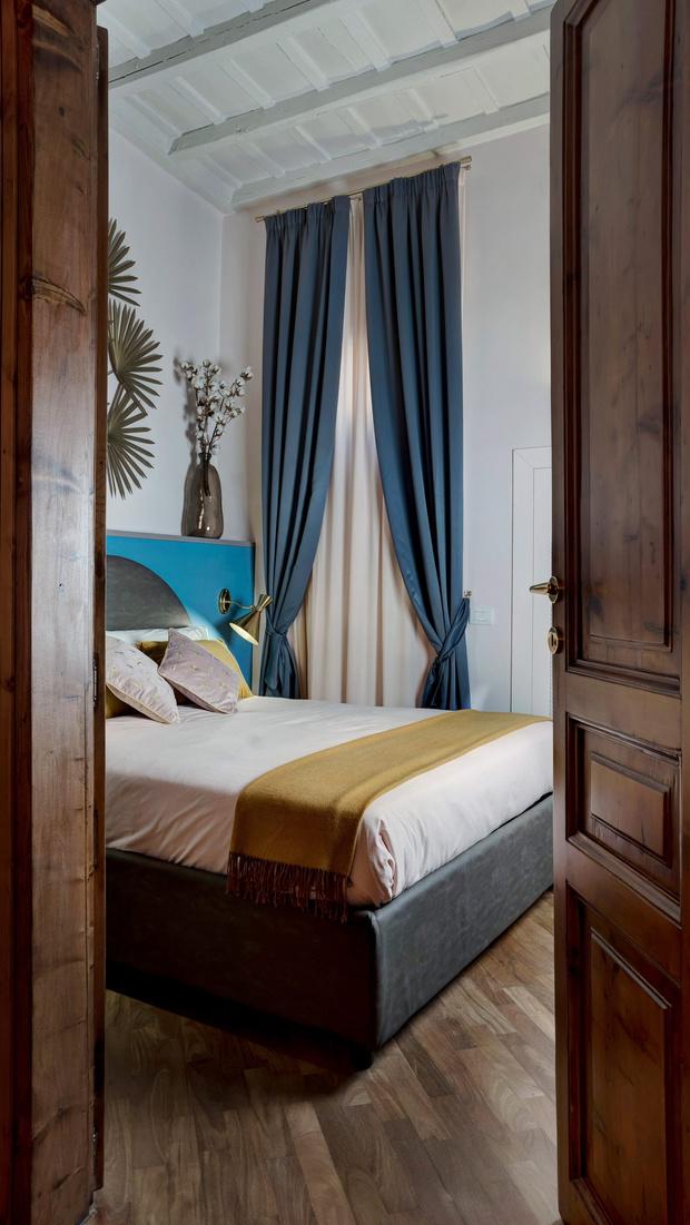 Фото №8 - Яркая квартира у фонтана Треви в Риме