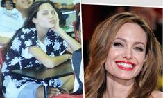 Анджелина Джоли и другие звезды, которым было непросто в школе