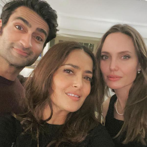 Фото №2 - Сальма Хайек показала, как выглядит Джоли без фотошопа и грима