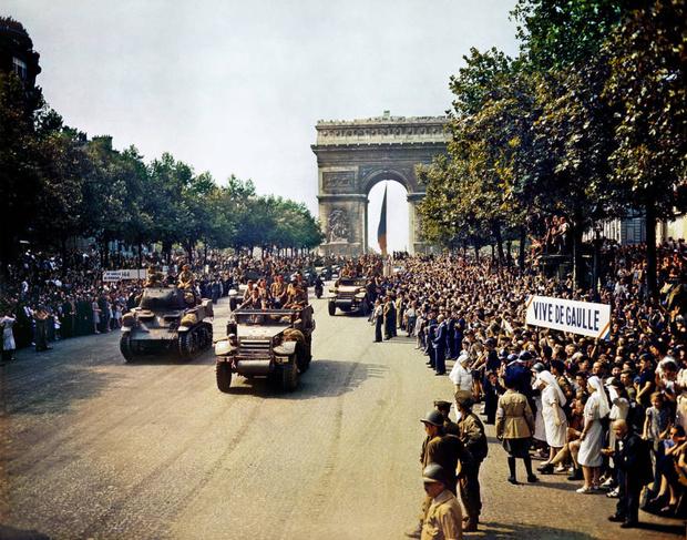 Фото №21 - 22 завораживающих цветных фото Второй мировой