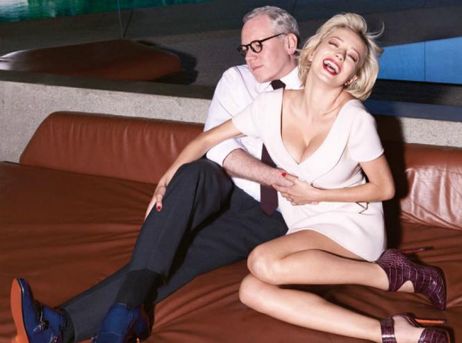 Фото №1 - Голливудский гламур в рекламной кампании Santoni