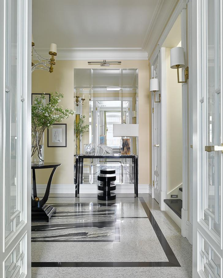 Фото №5 - Двухэтажная квартира 154 м² на Патриарших прудах