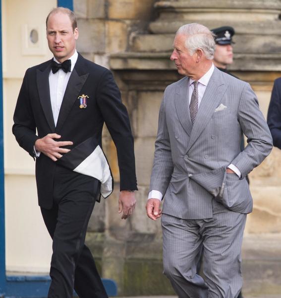 Принц Уильям и принц Чарльз